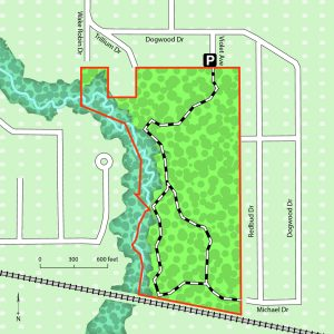 Trail Map of Ritchie Nature Preserve