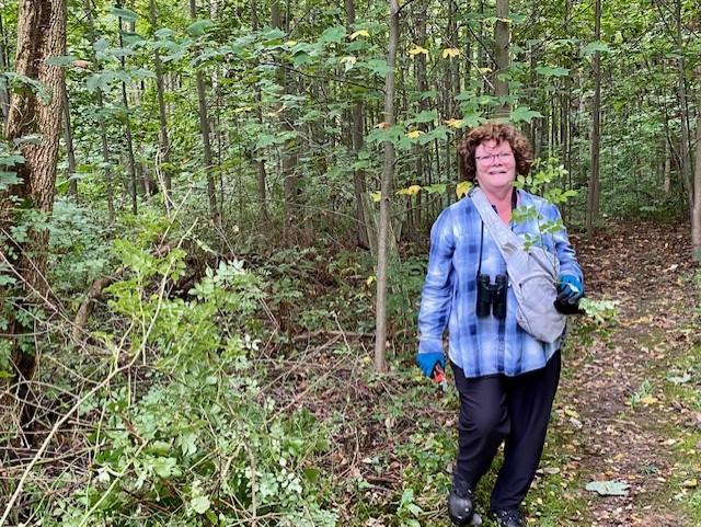 Maureen Kolbusz at Ambler Flatwoods Nature Preserve